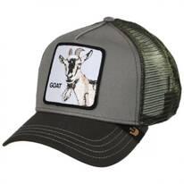 Goat Trucker Snapback Baseball Cap
