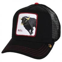 Bull Trucker Snapback Baseball Cap