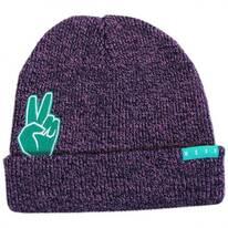 Peek A Boo Peace Sign Beanie Hat