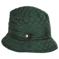 Quilted Rollup Rain Bucket Hat
