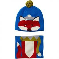 Kids Winter Animal Beanie and Neck Gaiter Match Set