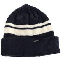 Velvet Cuff Beanie Hat