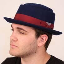Wool Felt Porkpie Hat