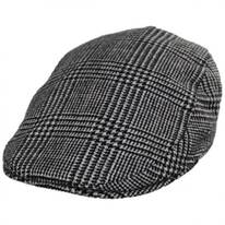 Cashmere and Wool Glencheck Ivy Cap