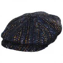 Donegal Striped Wool Newsboy Cap