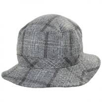 Hardy Plaid Wool Blend Bucket Hat