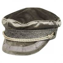 Albany Velour Fisherman Cap