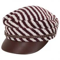 Albany Striped Fisherman Cap