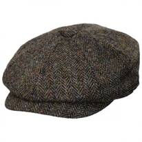 Harris Tweed Northbay Wool Newsboy Cap