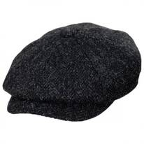 Harris Tweed Taransay Wool Newsboy Cap