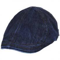 Vintage Denim Cotton Blend Duckbill Ivy Cap