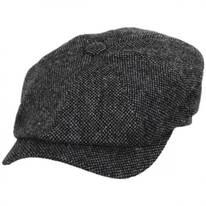 Donegal Shetland Wool Tweed Newsboy Cap