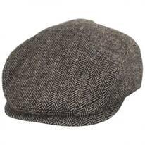 Classic Shetland Earflap Wool Ivy Cap