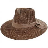 Solange Milan Straw Fedora Hat