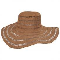 Ventana Toyo Crochet Floppy Straw Sun Hat