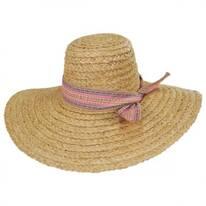 Azteca Raffia Straw Sun Hat