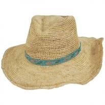 Renegade Raffia Straw Western Hat