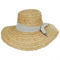 Marigot Raffia Straw Sun Hat