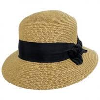 Spectator Toyo Straw Blend Cloche Hat