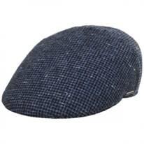 Check Wool Ivy Cap