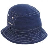 Mollusc Cotton Linen Blend Bucket Hat