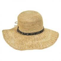 Macademia Raffia Straw Swinger Hat