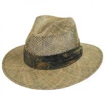 Los Cabos Seagrass Fedora Hat