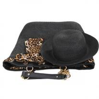 Serengeti Toyo Straw Bag and Hat Set