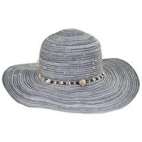 Perdido Straw Blend Facesaver Hat