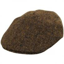 Boris Harris Tweed Wool Ascot Cap