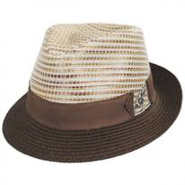 Timbuktu Toyo Straw Blend Fedora Hat