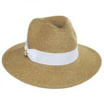 Eastpoint Toyo Straw Blend Fedora Hat