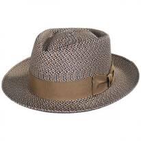 Daddy-O Milan Straw Fedora Hat