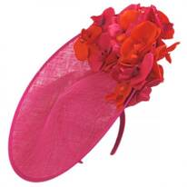 Triple Crown Sinamay Fascinator Hat