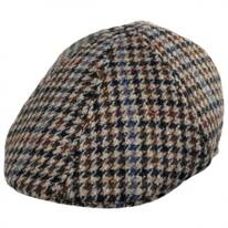 Hugh Wool Houndstooth Duckbill Cap