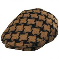 Huntsworth Wool Houndstooth Ivy Cap