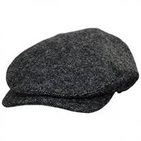 Sussex Nailhead Wool Check Ivy Cap