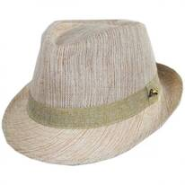 Horizon Linen Fedora Hat