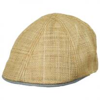 Dockside Straw Duckbill Ivy Cap