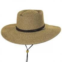 Bruges Toyo Straw Blend Boater Hat