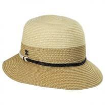 Sea Crest Toyo Straw Cloche Hat