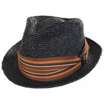 Alessandro Raffia Straw Fedora Hat
