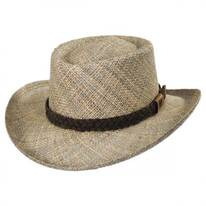 Melton LiteStraw Seagrass Gambler Hat