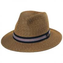 Hester Toyo Straw Blend Fedora Hat