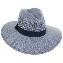 Blanchet Toyo Straw Blend Fedora Hat