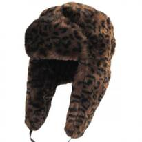 Leopard Trapper Hat