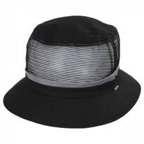 Hardy Cotton and Mesh Bucket Hat