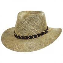 Alder Seagrass Straw Outback Hat