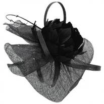 Priscilla Sinamay Fascinator Hat