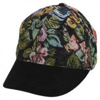Floral Adjustable Baseball Cap